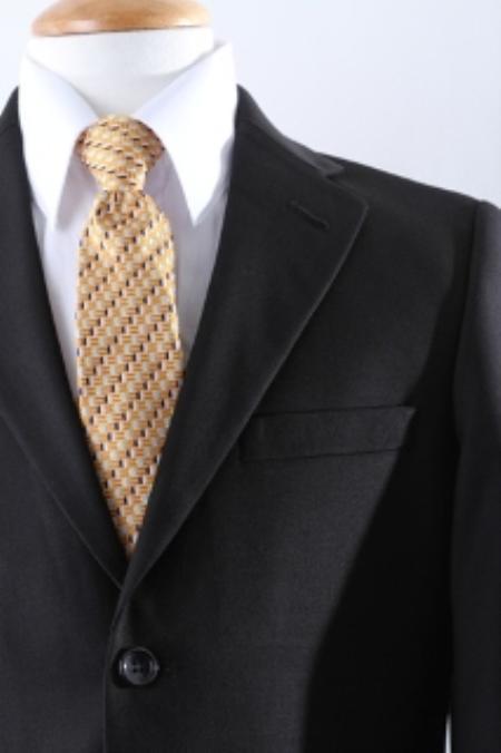 SKU#KA9807 Two Button Boy Dress Suit