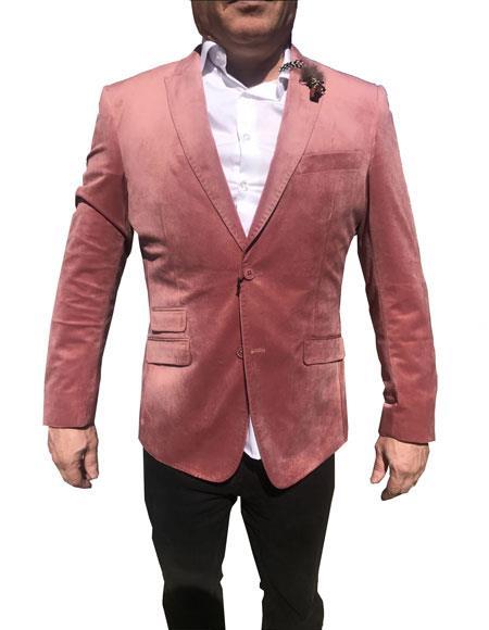 Mens Velvet Blazer ~ Sportcoat velour Mens blazer Jacket