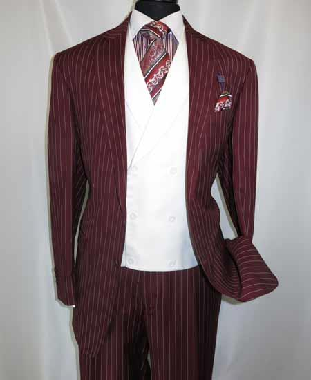 99 Any Color Size Style Mens Gangster Suits Mafia Suits
