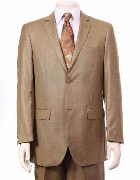 Champagne Suit Gold ~ Mustard ~ Dijon ~ Dark Yellow ~ Champagne Color Sharkskin Suit Canary ~ Wheat Color