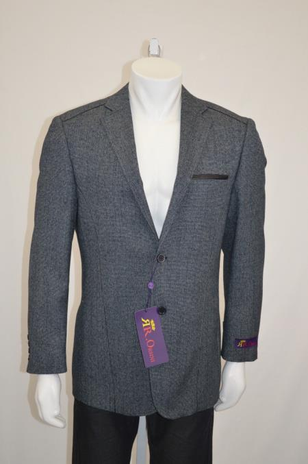 Button Slim Cut Blazer