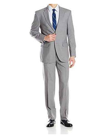 Mens Daniel Craig James Bond Cheap Priced Menswear Grey 2 Button Notch Lapel Suit