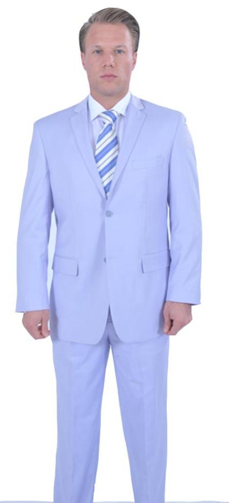 Colorful 2 Piece Affordable Cheap Priced Business Suits Clearance Sale Online Sale - Lavender ~ Lilac