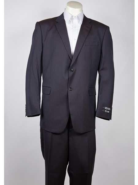 Buy SM979 Two Button Navy Men's Classic Fit Single Breasted Notch Lapel Suit