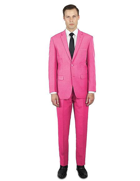 Colorful Pink ~ Fuchsia Cool Party Printed Summer Christmas Cheap Priced Casual Blazer Pattenred Jacket For Men
