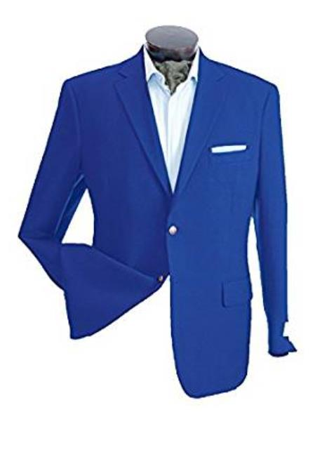 Mens Two Button Cheap Priced Designer Fashion Dress Casual Blazer On Sale Blazer Royal
