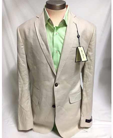 Mens Two Button Linen Stone Cheap Priced Designer Fashion Dress Casual Blazer For Men On Sale Jacket Sportcoat Blazer