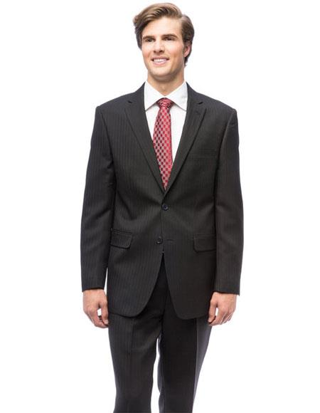 Mens Two Buttons Single Breasted Modern Fit Authentic Giorgio Fiorelli Brand suits