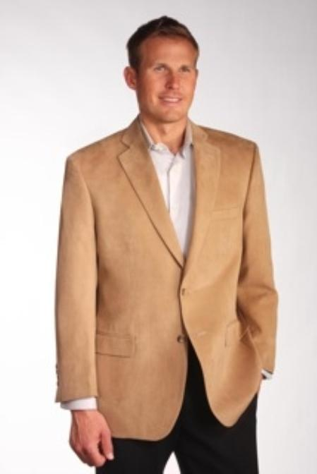 Model Charles Two Discount Affordable 2 Button Camel ~ Khaki ~ Tan ~ Beige Wool ~ Cashmere Blazer Sport coat Jacket