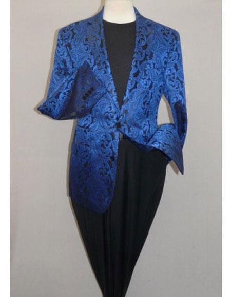 Alberto Nardoni Brand Men's Blazer Royal Blue(Wholesale Price $75 (12pc&UPMinimum))