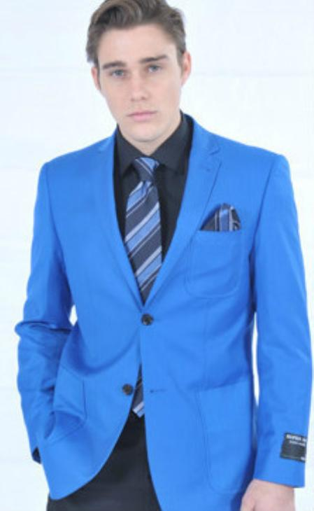 Fitted Premium Royal Blazer