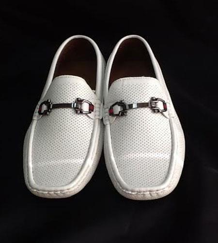 Two Tone Shoes White