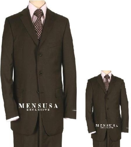 SKU# UJR193 1 Men + 1 Boy MATCHING SET FOR BOTH FATHER AND SON 3 Button WOOL SUIT $289