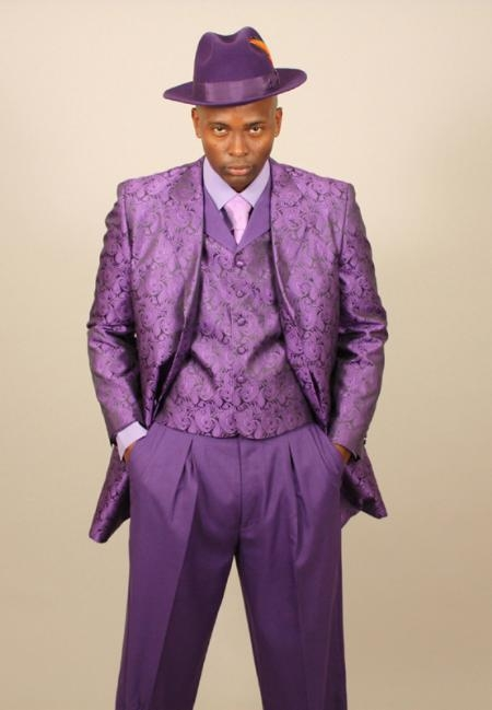 Image result for purple zoot suit