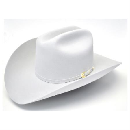 Mahan Hats-6X Real Platinum