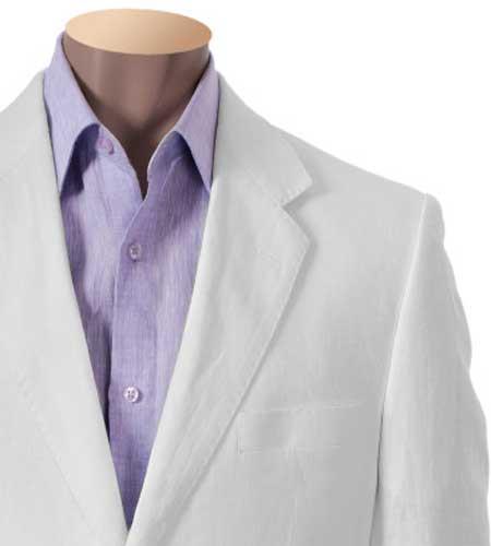 Inserch 100% Linen White