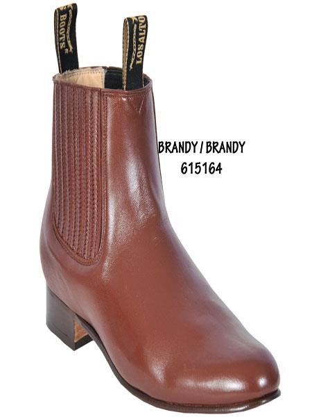 Short Boot – Brandy