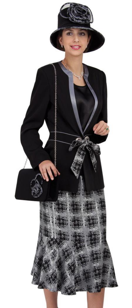 Dress Set Black-Silver