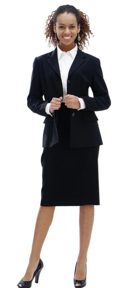 Women Dress Set Black
