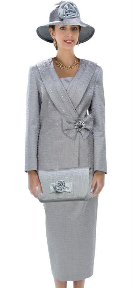Dress Set Silver Gold