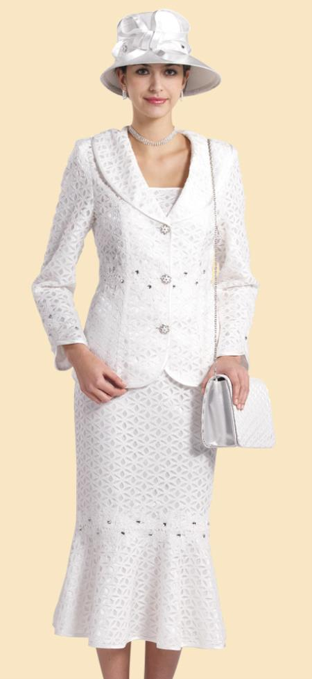 Dress Set White Black