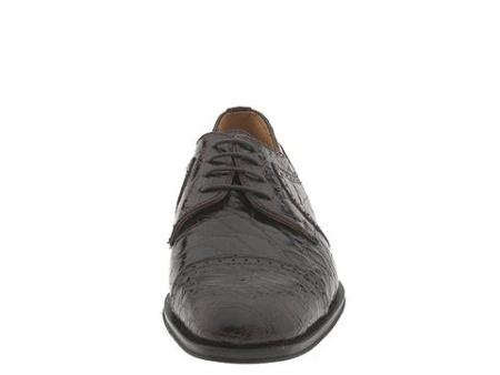 SKU# XNW760 Zelli Classic  Genuine crocodile upper in a cap to oxford design. Exotics