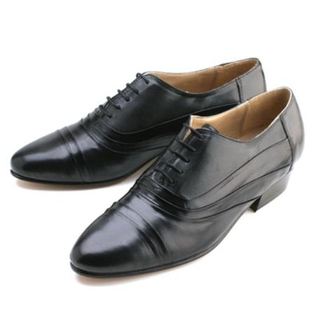 SKU# 96237 Zitalli Black Double folded captoe bal oxford $99