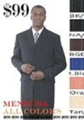 SKU# IOI550 $119 All Colors Available Pinstripe Fashion Mens Zoot Suit Check The colors Only $119