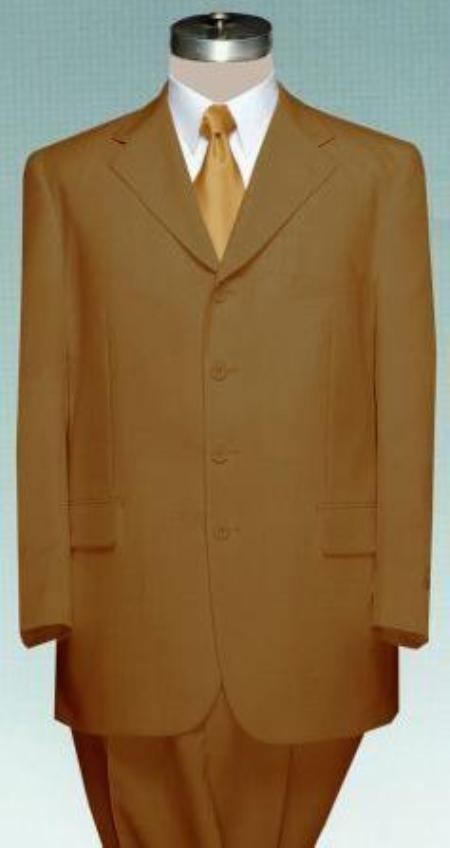 #MUC7 Beautiful Mens Coffe~Tan~Brown Dress With Pastel Smooth Soft Fabric $99