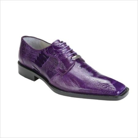 SKU#BLV2983 Belvedere Mens Filipo Oxford in Purple $300
