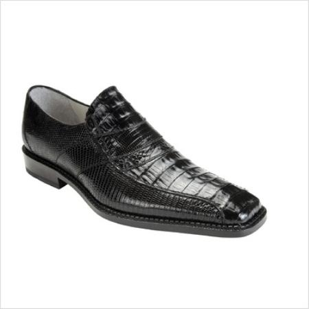 SKU#PK9976 Belvedere Mens Gavino Loafer in Black $268