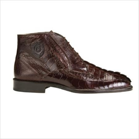 SKU#KC34882 Belvedere Mens Rico Boots in Brown $461