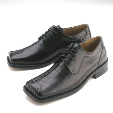 SKU#HA811 Black Calfskin Lace-Up $75