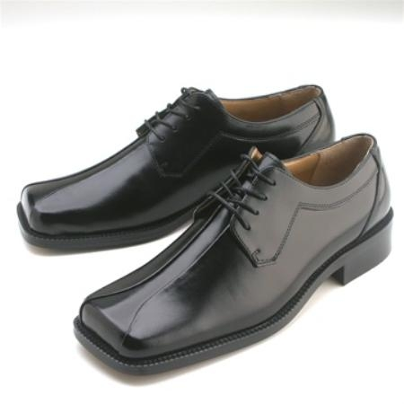 SKU#JO301 Black Calfskin Lace-Up $75