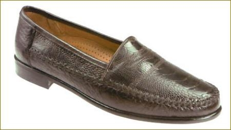 SKU# TVK828 144-brn  Brown  This Tassel slip-on of genuine Peccary