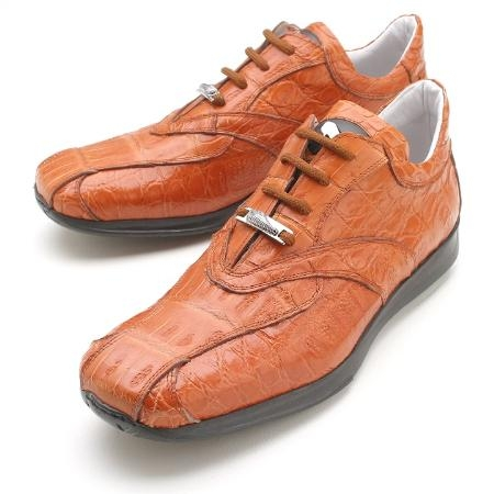 SKU#LD8990 Cognac Full Genuine Crocodile $279