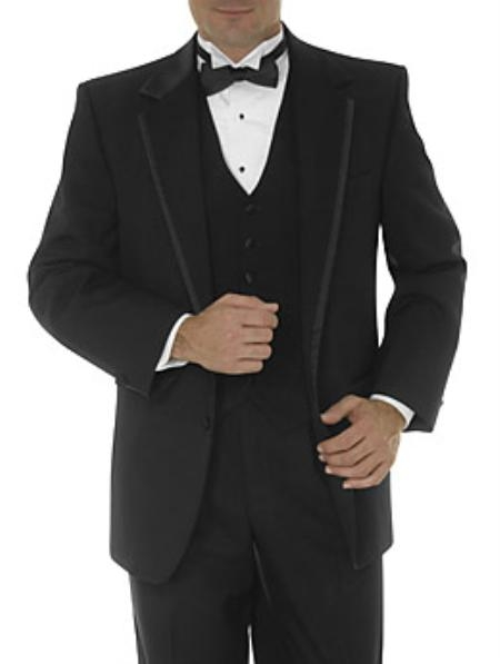 SKU#NA2 elegant Uomo Collectionn Framed edge notch lapel 2 button single breasted Fine Wool $175