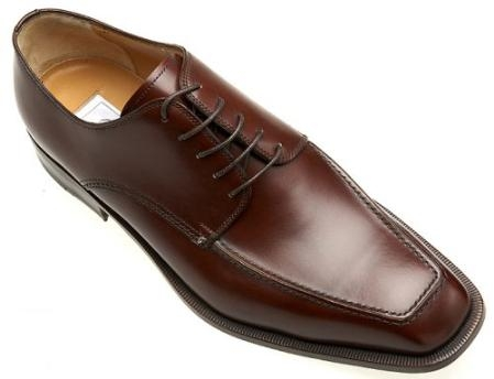 SKU#DB9902  Ferrini Genuine French Calf Shoes - Brown $365