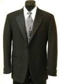 SKU#Y711GA 1 Button Tuxedo Satin Covered Jacket + Pants $109