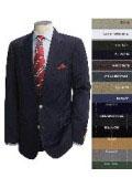 Black Wool 2-button Suit