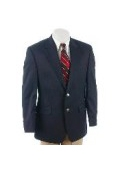 2-Button Navy Blue Sport