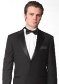 Button Notch Lapel Tuxedo