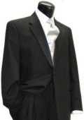 SKU# ECL49 2 Buttons Tuxedo Super 140 Wool Suit premeier quality italian fabric Design + Shirt + Bow Tie $199