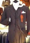 3 Buttons Vested side