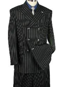 MEN 2pc WIDE-LEG STRIPE