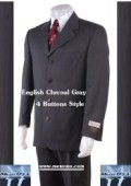 4 Buttons English Gray