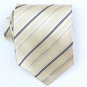 Yellow/Navy/Ltblue Woven Necktie $39