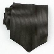 Silk Brown/Black Woven Necktie