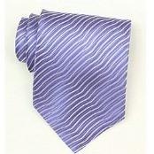 Silk Lavender Woven necktie