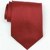 Silk Red Woven Necktie
